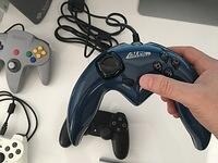 The ALPS Interactive Game controller - location of the start button