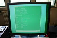 "Green Tinted Monitor output on the Acclaim Indy ""Tiny"""